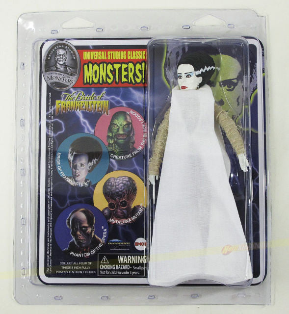 Universal Monsters Retro Diamond Select Figure - Bride of Frankenstein