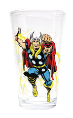 Copy of Marvel Comics Vintage Style THOR Drinking Glass (Toon Tumbler)