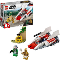 Lego Star Wars Rebel A Wing Starfighter Building Kit 75247 (62 Pieces)