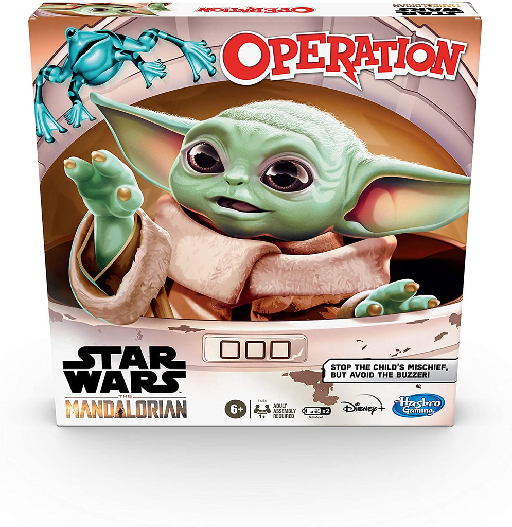 Operation Game: Star Wars The Mandalorian The Child/Baby Yoda Edition Game