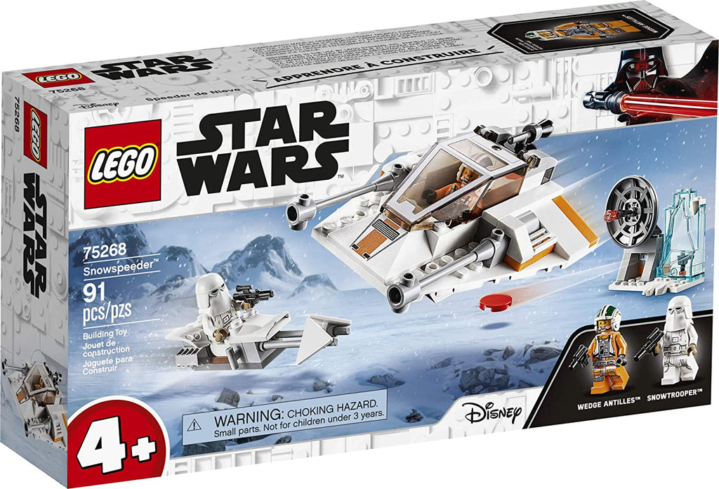 Lego Disney Star Wars Snowspeeder Building Kit 75268 (91 Pieces)