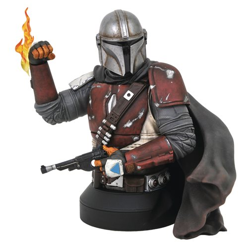 Star Wars Mandalorian MK1 1:6 Scale Mini-Bust