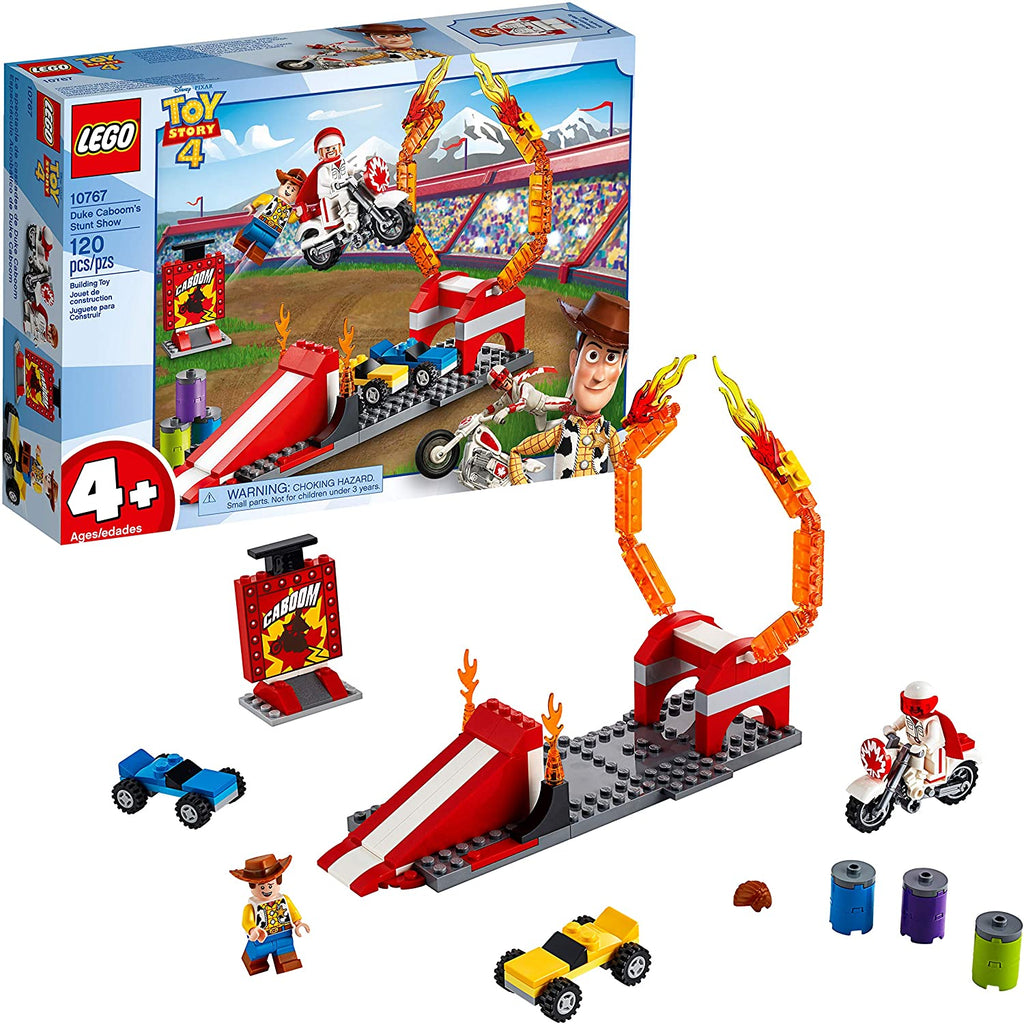 Lego Disney Pixar's Toy Story Duke Caboom's Stunt Show Building Kit 10767 (120 Pieces)