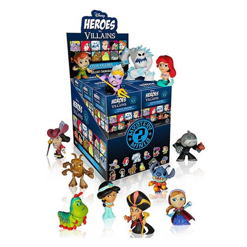 Funko Disney Heroes vs. Villains Mystery Minis Vinyl Figure - 1 Blind Box
