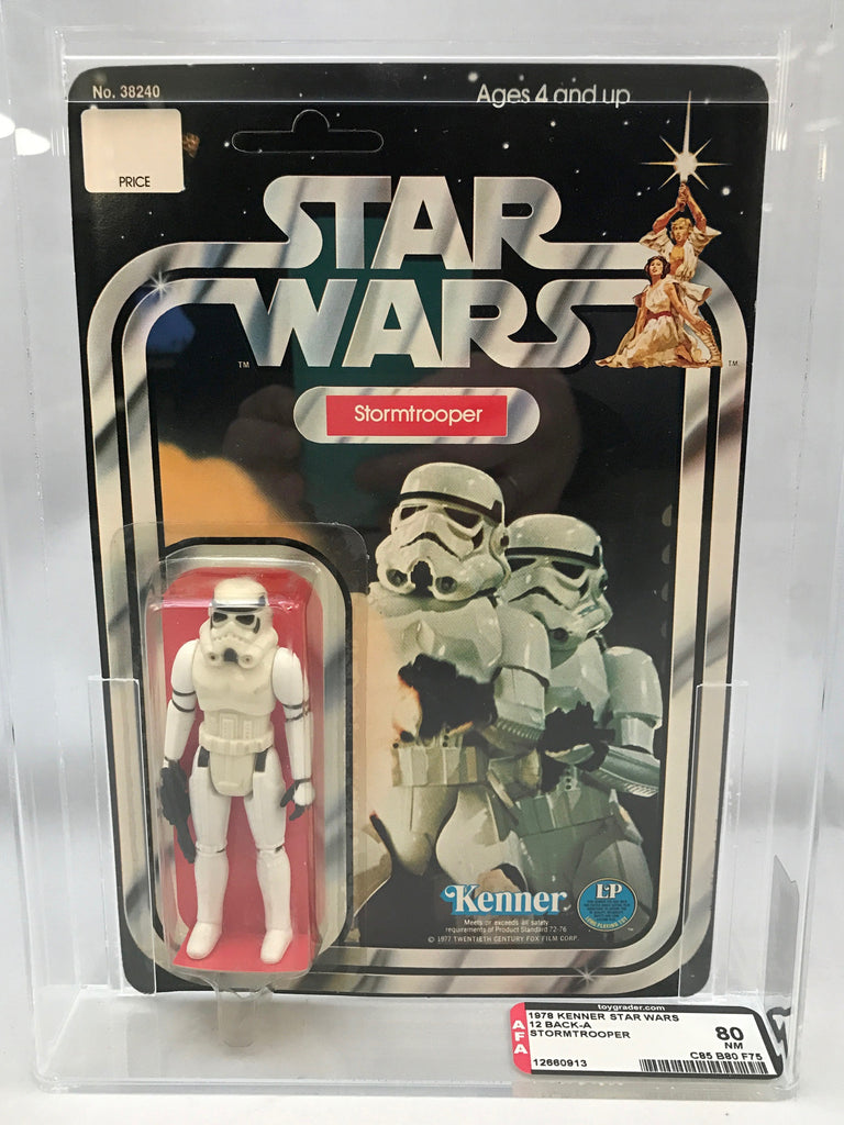 Star Wars Stormtrooper 12-Back-A : AFA 80 (85-80-75)