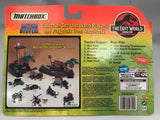 Vintage Jurassic Park The Lost World Matchbox Tracker/Trapper Skip Truck w/ Ian Malcolm