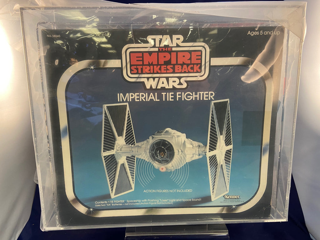 Vintage Kenner Star Wars ESB Imperial Tie Fighter Vehicle CAS 80 MIB