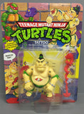 Vintage Teenage Mutant Ninja Turtles Tattoo Action Figure