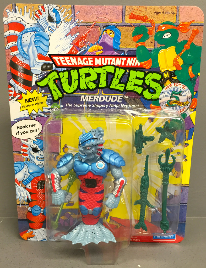 Vintage Teenage Mutant Ninja Turtles Merdude Action Figure