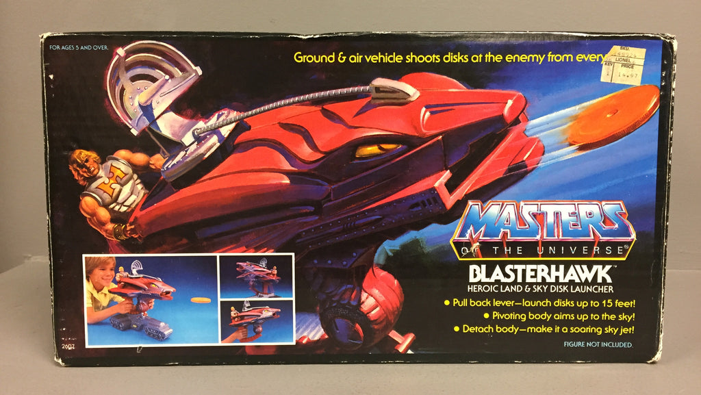 Vintage Mattel Masters of the Universe Blasterhawk in box