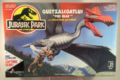 "Jurassic Park Quetzalcoatlus ""Fire Beak"" with Attack Beak, Talons, and Capture Gear Sealed"
