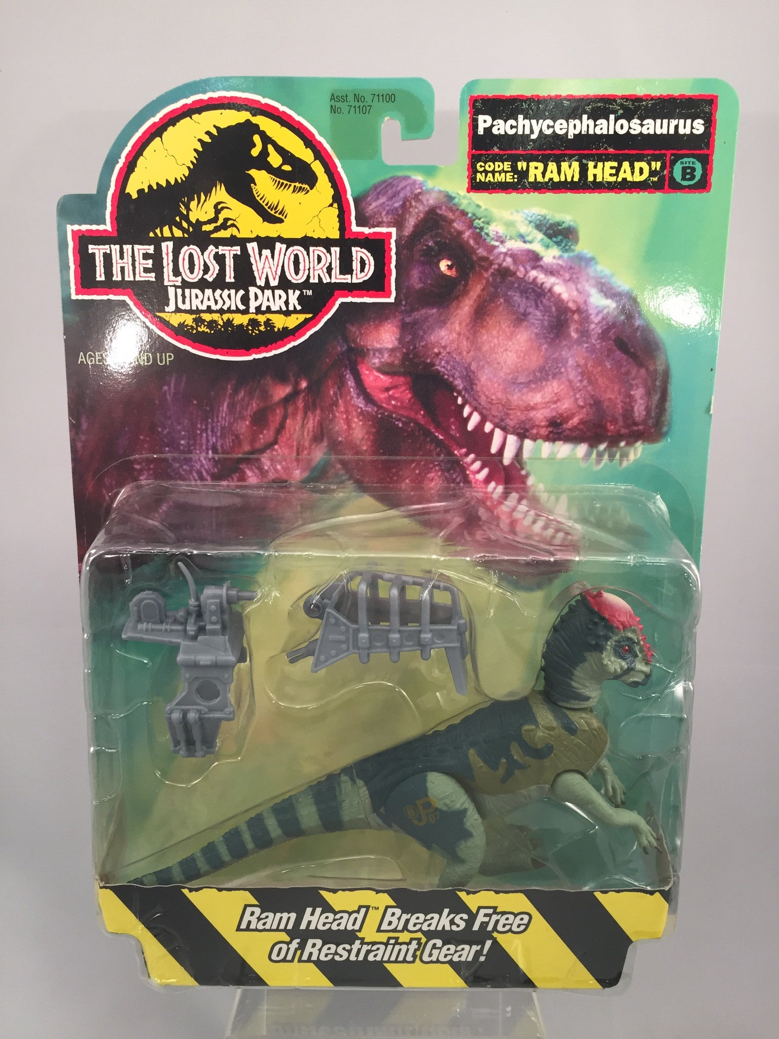 Jurassic Park The Lost World Pachycephalosaurus Ram Head Site B