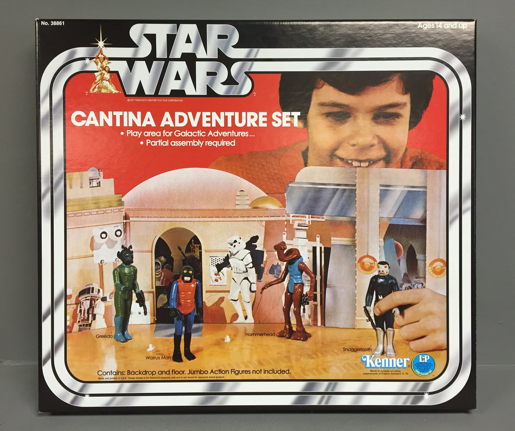 New Gentle Giant Kenner Star Wars Jumbo Cantina Adventure Set