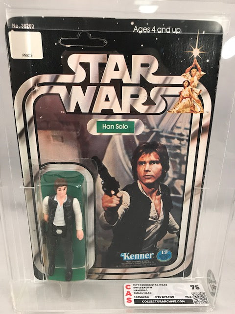 Star Wars Han Solo 12-Back-B : CAS 75 (75-75-80)