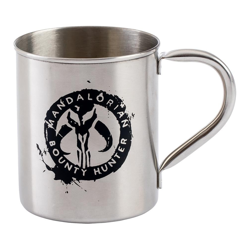 Star Wars Mandalorian 12 oz. Metal Mug