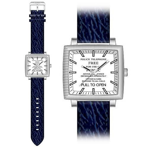 Dr. Who. Men's Tardis Designer Watch