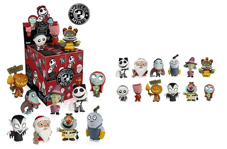 Funko Nightmare Before Christmas Mystery Minis Vinyl Figure Series ...