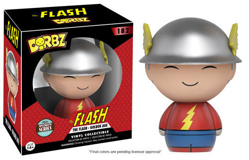 Funko The Flash - Golden Age Specialty Series Vinyl Dorbz