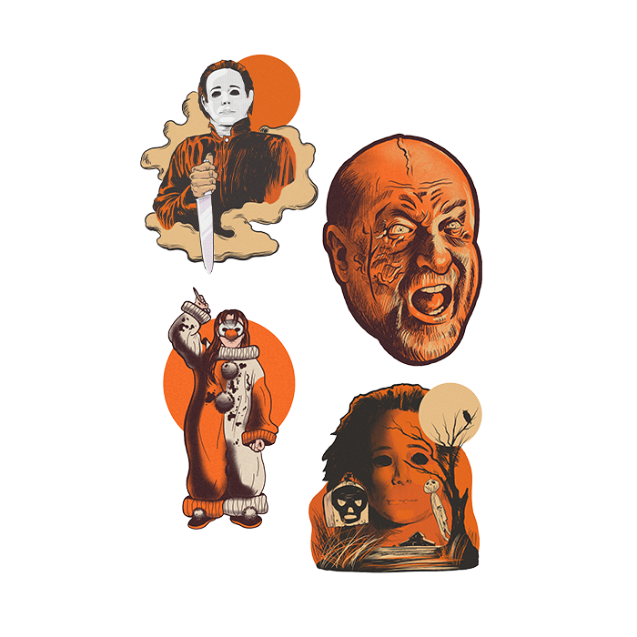 Halloween 4 Movie :  The Return of Michael Myers Wall Decor