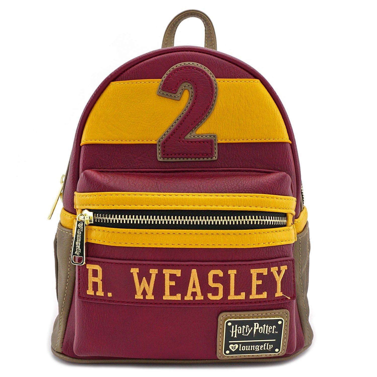 4887256b408 Harry Potter Ron Weasley Gryffindor Mini Backpack Loungefly ...