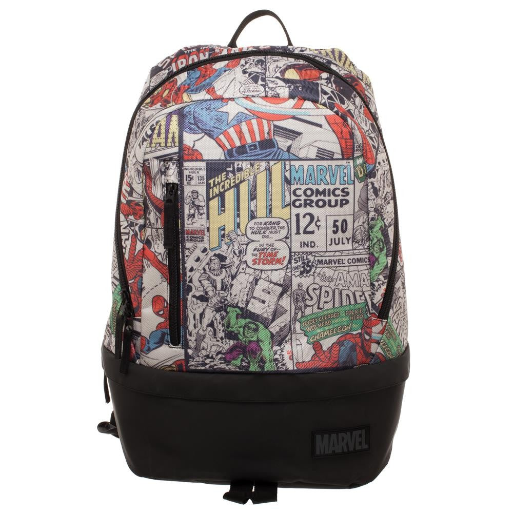 Marvel Comic Bottom Zip Backpack