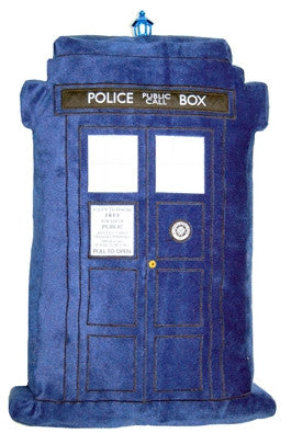 Doctor Who Talking Tardis Pillow