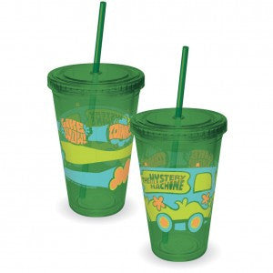 Scooby-Doo Water Cup with Straw
