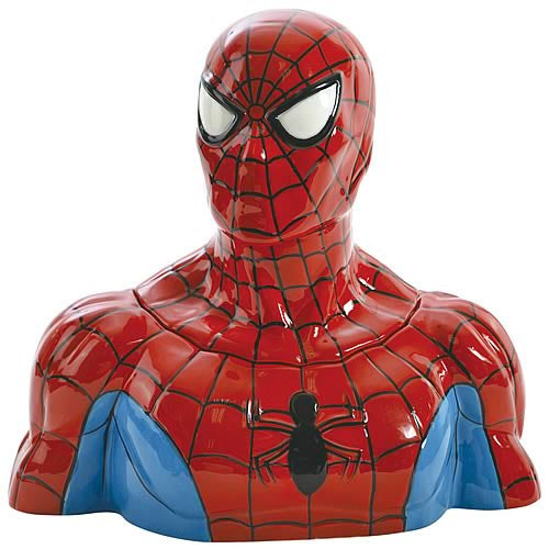 Spider-Man Ceramic Cookie Jar