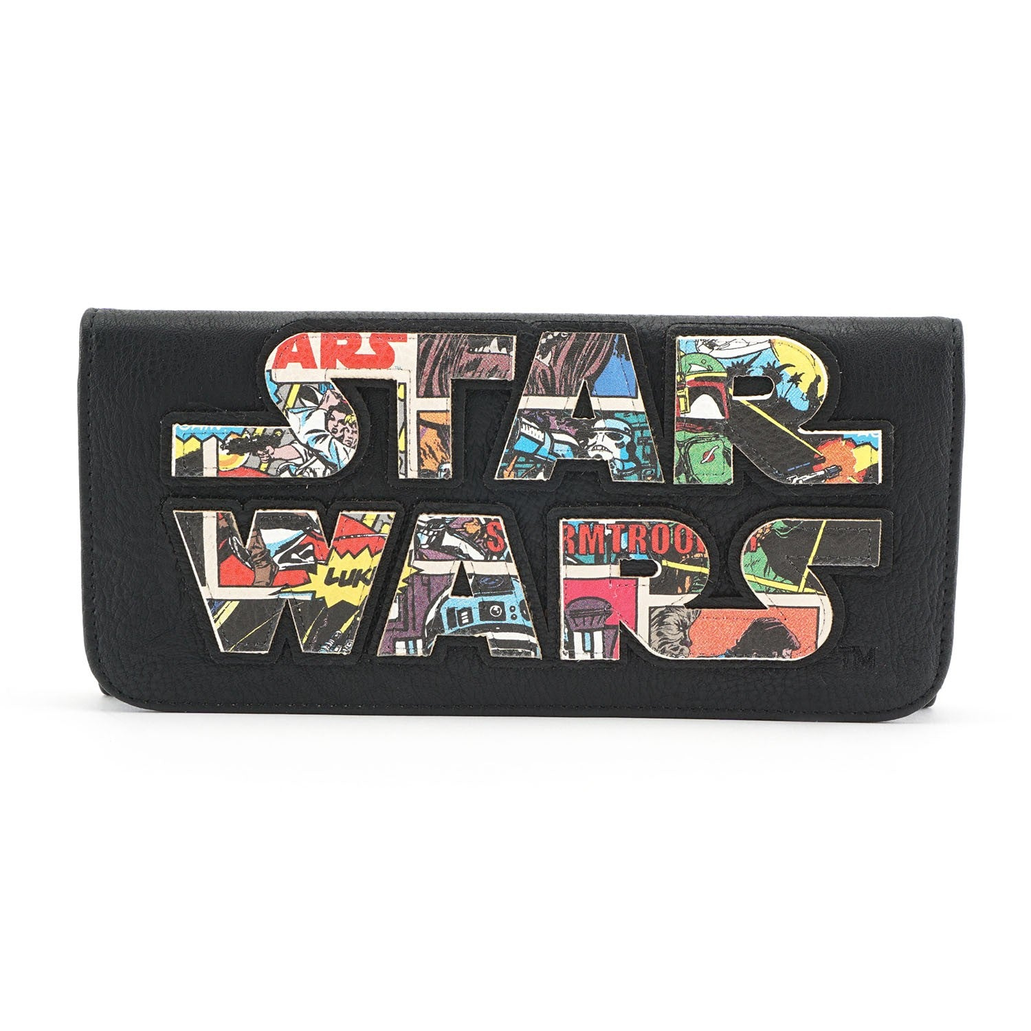 Star Wars Logo Comic Wallet Loungefly