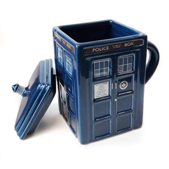 Doctor Who Tardis Mug with Lid
