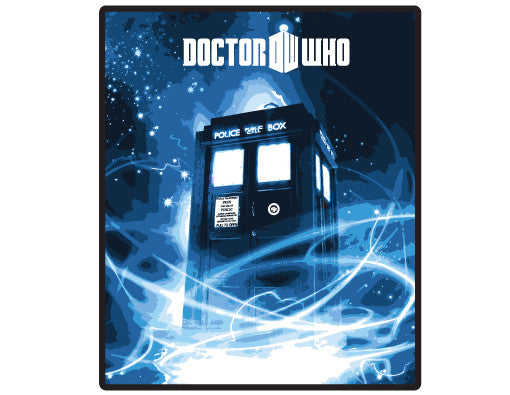 Doctor Who Gallifrey Tardis Throw Blanket