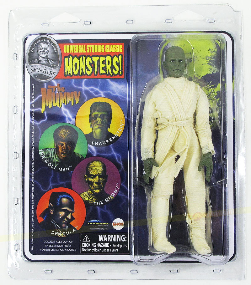Universal Monsters Retro Diamond Select Figure - The Mummy