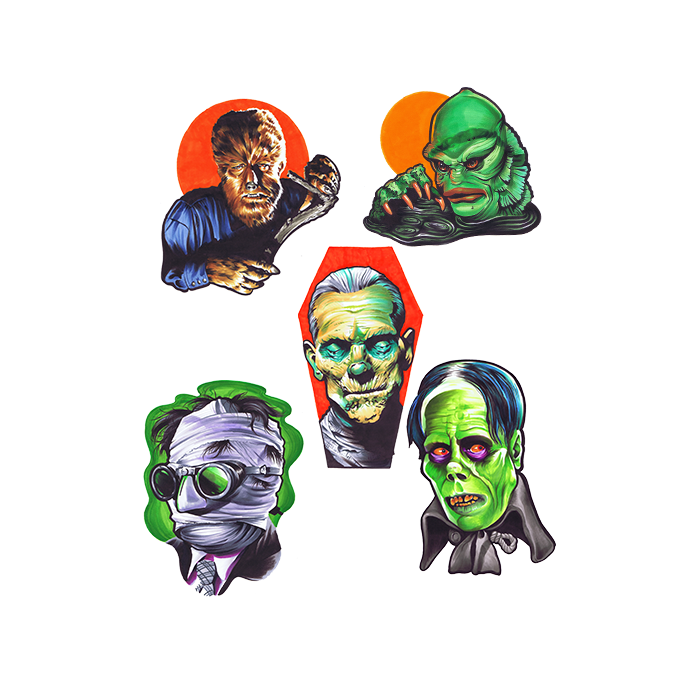 Universal Classic Monsters Wall Decor Series 1
