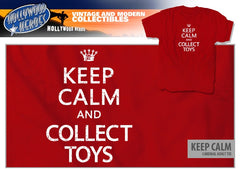 """Keep Calm And Collect Toys"" Unisex T-Shirt"
