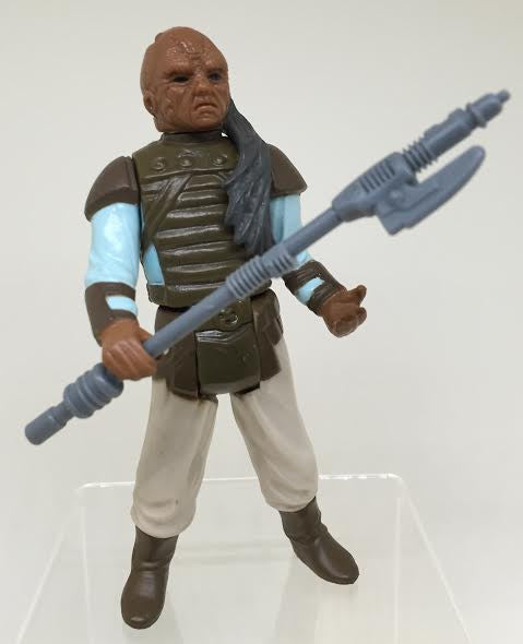 Vintage Star Wars Loose ROTJ Weequay Kenner Action Figure