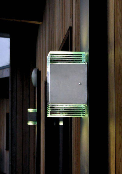Acier LED beacon applique murale, GCdesigns