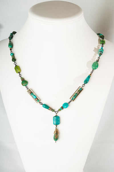 Elemental Turquoise Necklace