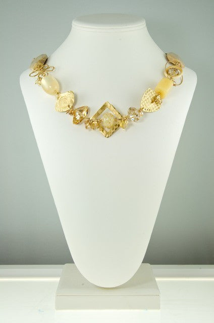 Champagne Cream Necklace