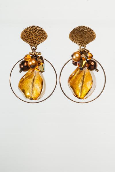 Spiced Gold Earrings