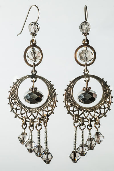 Silver Mist Earrings