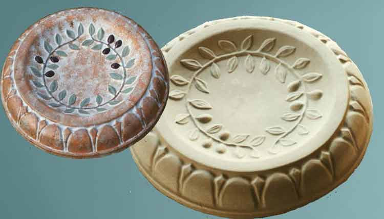 Bird Bath Mold - History Stones