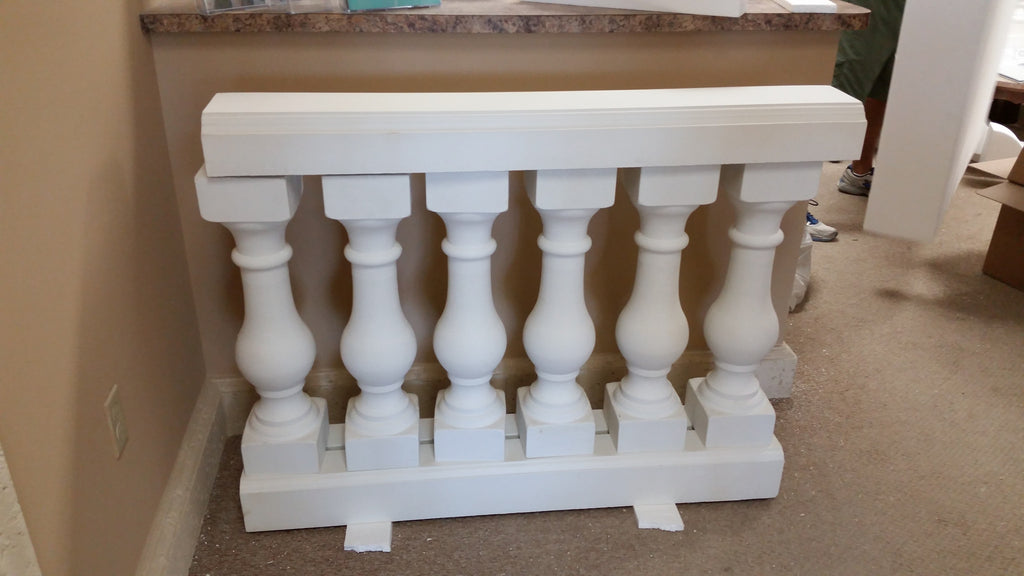 Baluster railing form set - History Stones