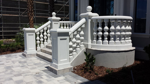 Baluster Railing Mould Set - History Stones