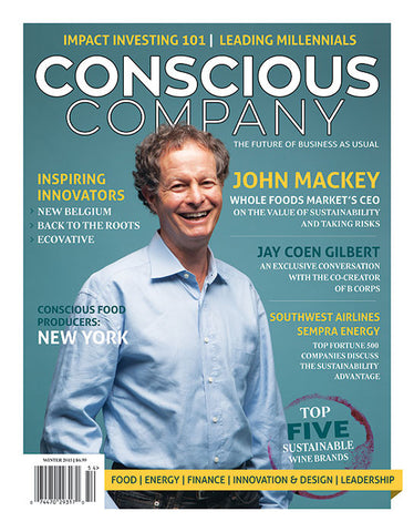 Issue 1 | Winter 2015-CONSCIOUS COMPANY Magazine