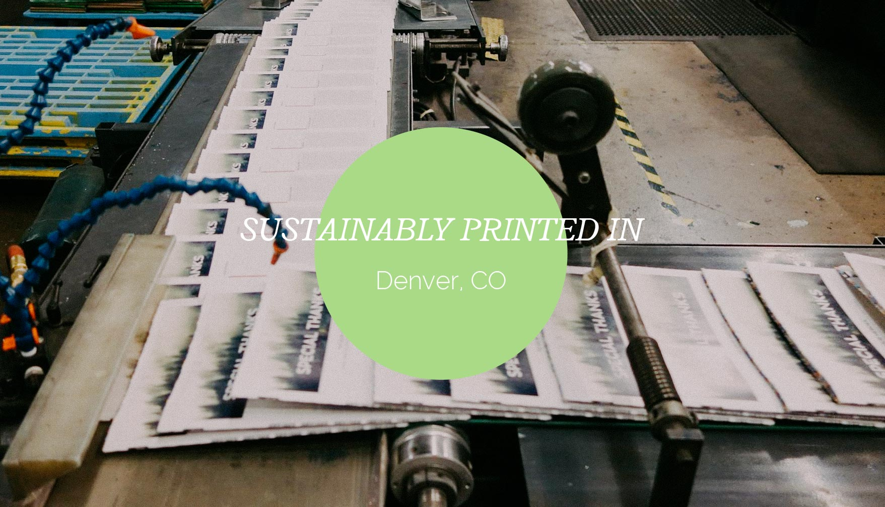 Sustainable printing