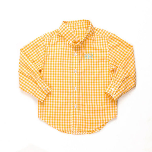 Garden Picnic James Button Down