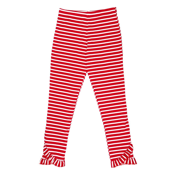 Holly Jolly Reese Red Stripe Legging