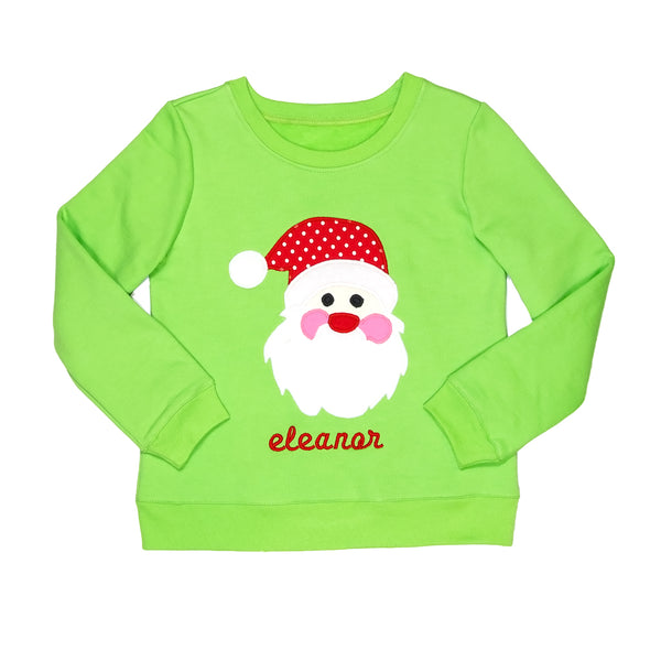 Holly Jolly Darby Santa Sweatshirt