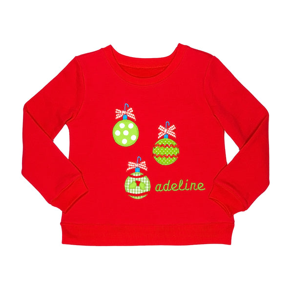 Holly Jolly Darby Ornaments Sweatshirt