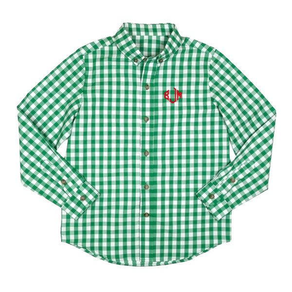 Classic Evergreen James Button Down